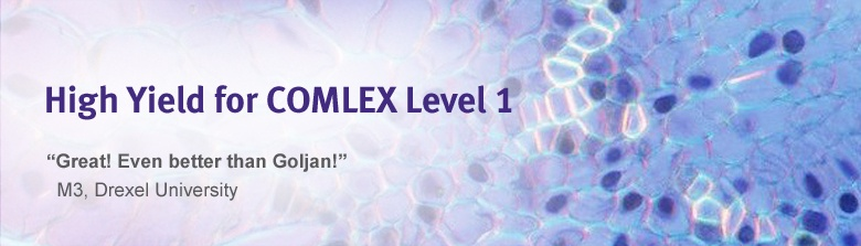 High Yield for COMLEX Level 1