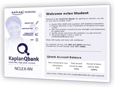 NCLEX qbank screen shot