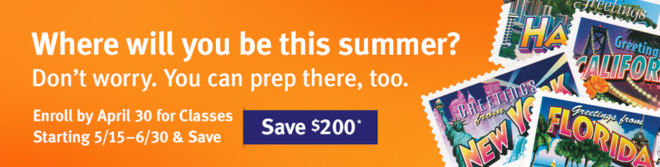 Save $200 for upcoming Summer Courses