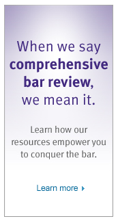 Kaplan Comprehensive Bar Review 1