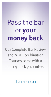 Complete Kaplan Bar Review Guarantee