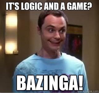 Sheldon loves LSAT Logic Games