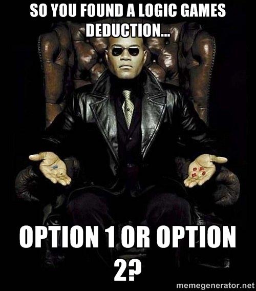 Logic Games Limited Options