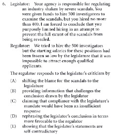 Real LSAT Practice Questions: Logical Reasoning Part 3