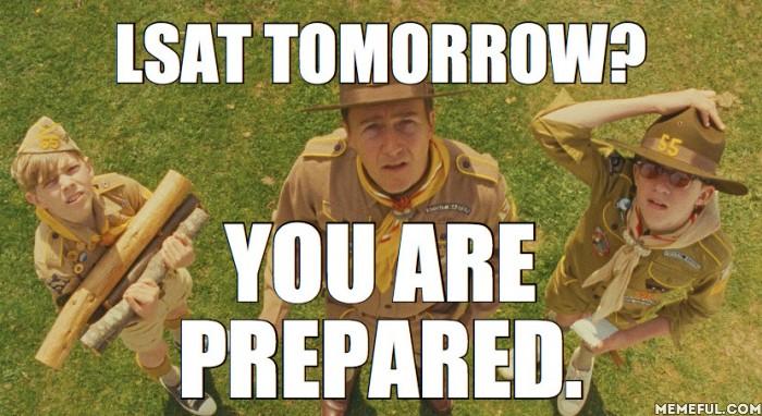 LSAT Prepare!