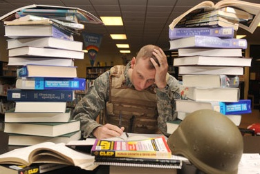 Getting into law school with military service