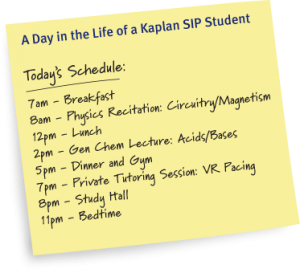 mcat-sip-schedule