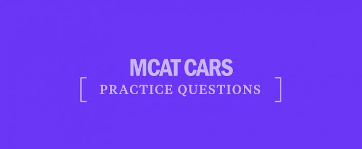 mcat-cars-practice-questions