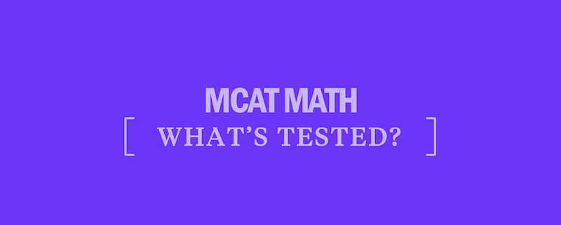 whats-tested-mcat-math