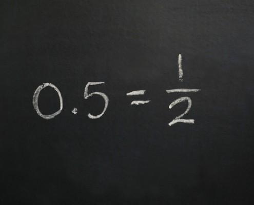 decimals fractions conversion converting