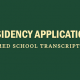 residency-applications-medical-school-transcripts