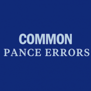 common-pance-test-errors