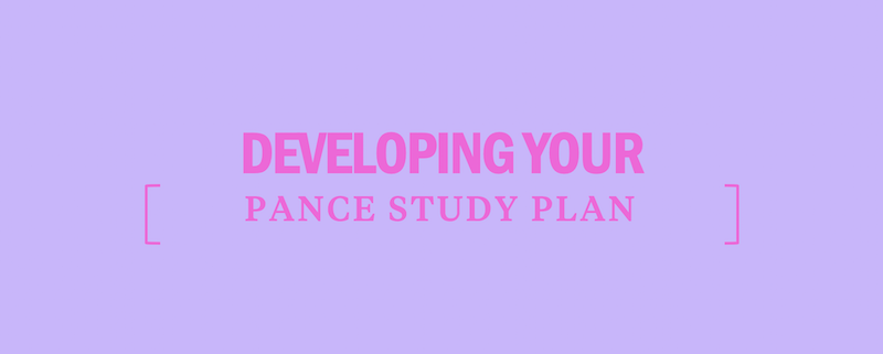 develop-pance-study-plan