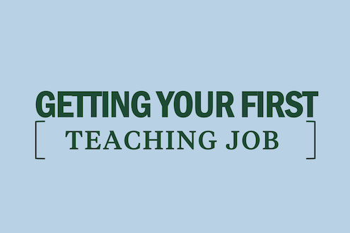 getting-your-first-teaching-job
