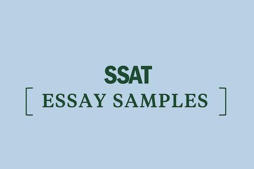 ssat-essay-examples