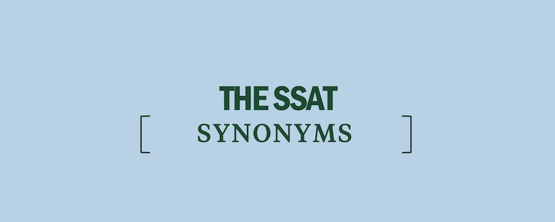 ssat-synonyms