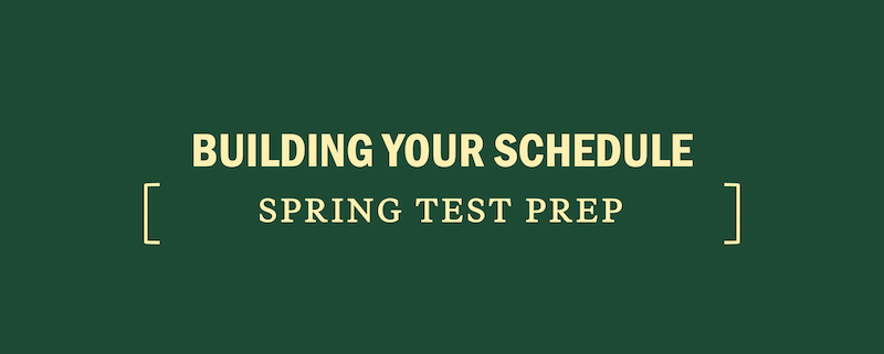 build-test-prep-spring-schedule