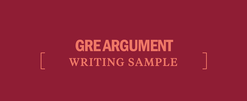 Gre essay score 6 samples