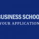 your-business-school-application