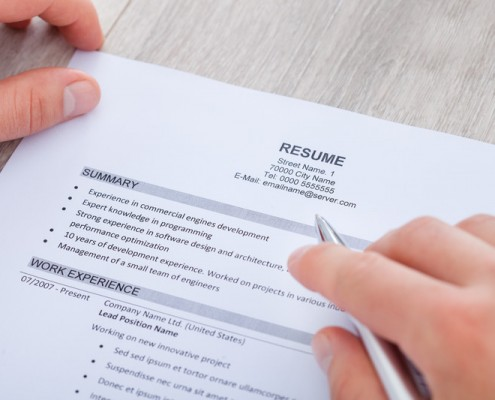 How to Fix Your Resume for Grad School