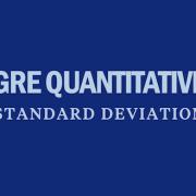 gre-quantitative-standard-deviation