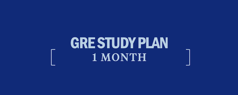 gre-study-plan-1-month