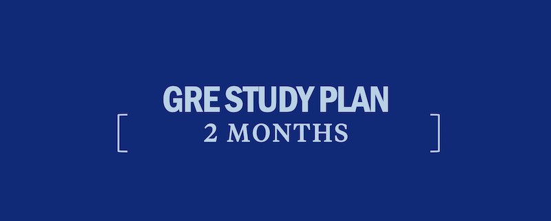 gre-study-plan-2-months