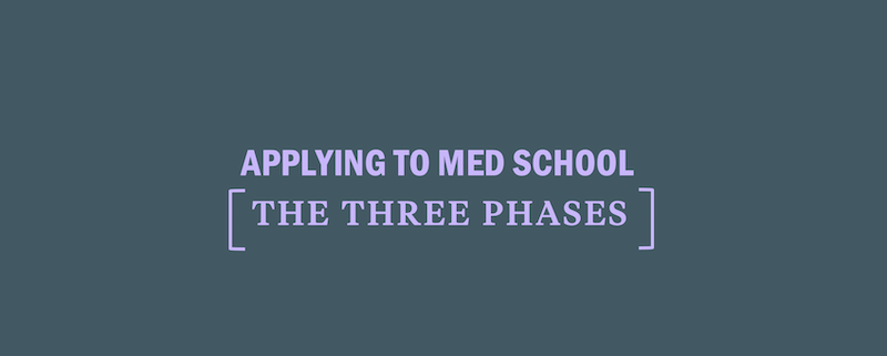 applying-to-medical-school-three-phases