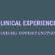 find-clinical-experience-opportunities