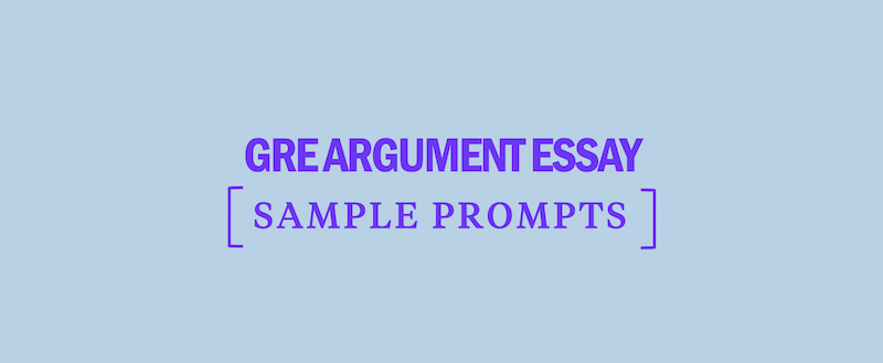 Tips for gre argument essay