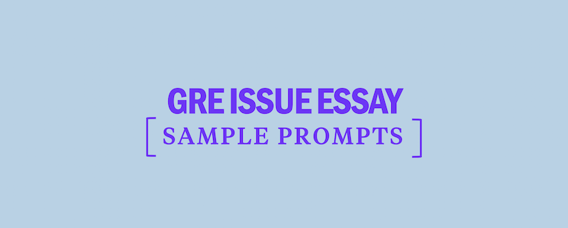 Pool of argument essay questions