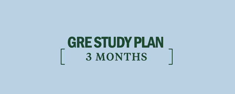 How to Study for the GRE in 3 Months - Kaplan Test Prep