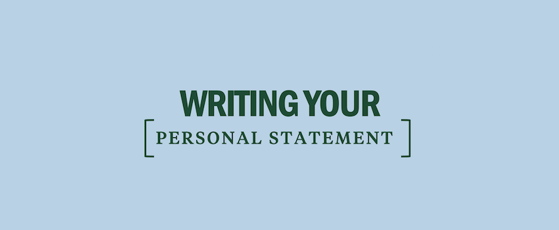 Personal essay college admissions layout