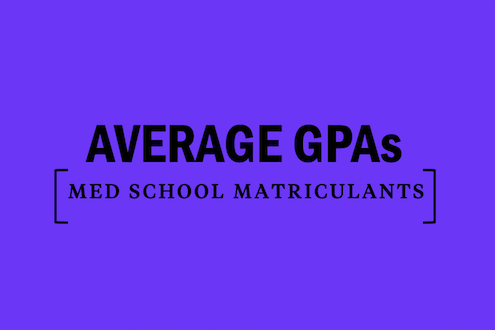 average-gpa-medical-school-matriculants
