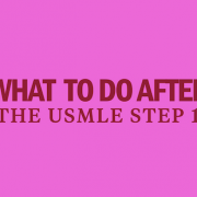 after the usmle step 1