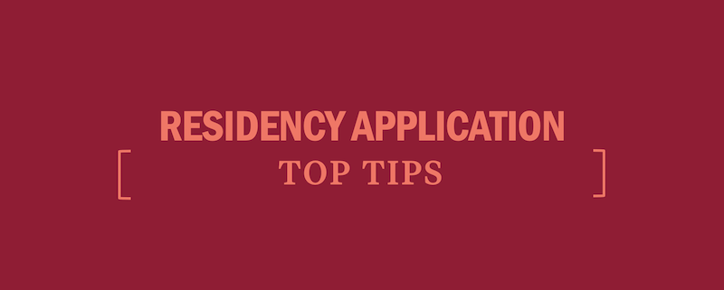 residency-application-top-tips