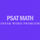 psat-math-linear-word-problems