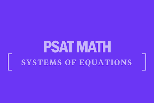 psat-math-systems-of-equations