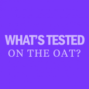 what is on the oat exam test
