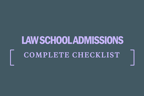 law-school-admissions-checklist