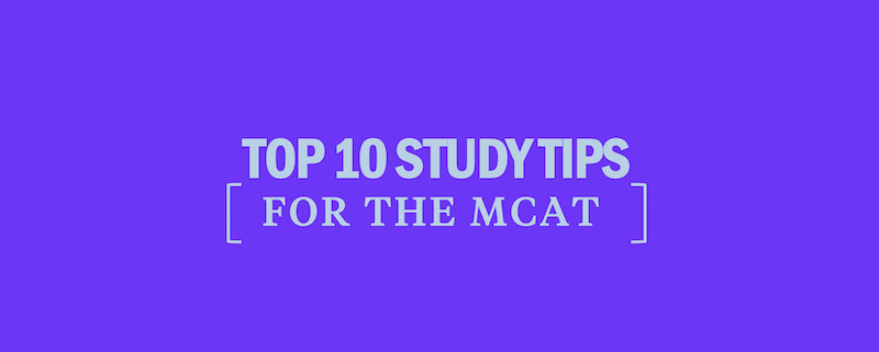 top-10-mcat-study-tips
