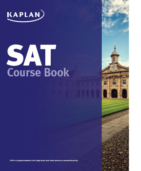 SAT course book cover image
