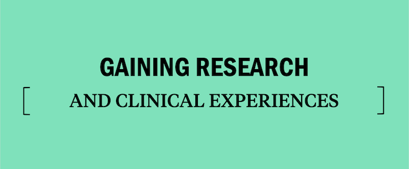 research-and-clinical-experiences-for-med-school