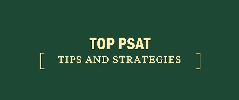 top-psat-tips-strategies-test-day