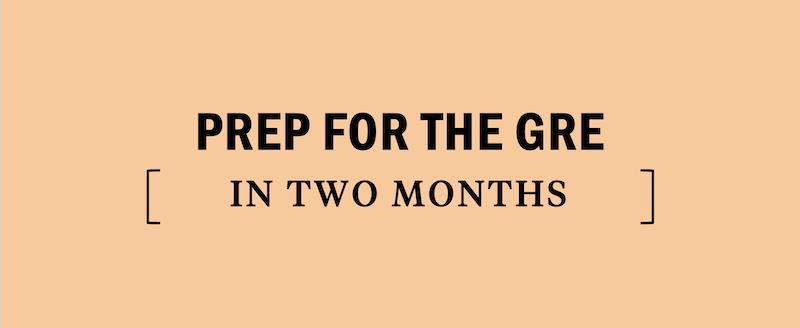 gre-2-month-study-plan